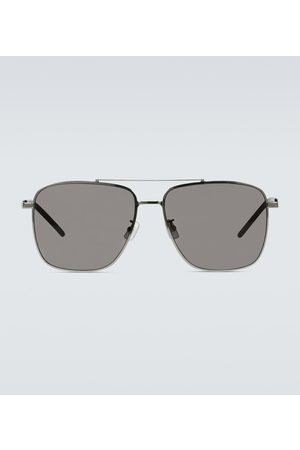 Saint Laurent Sonnenbrille aus Metall