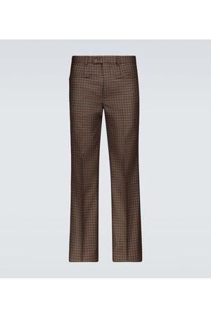 Givenchy Karierte Hose aus Tweed