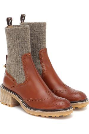 Chloé Ankle Boots Franne aus Leder