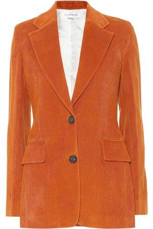 Victoria Beckham Blazer aus Baumwollcord
