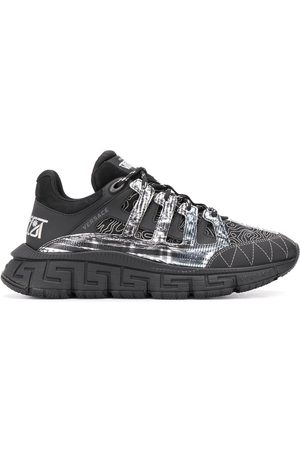 VERSACE Sneakers mit Kontrasteinsätzen