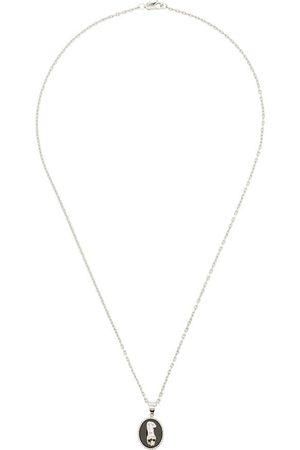 O THONGTHAI Herren Halsketten - Virgo' Halskette aus Sterlingsilber