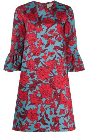 La DoubleJ 24/7' Kleid mit Blumen-Print