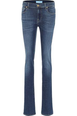 7 for all Mankind Mid-Rise Bootcut Jeans B(AIR)