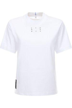 McQ T-shirt Aus Baumwolljersey Mit Logo