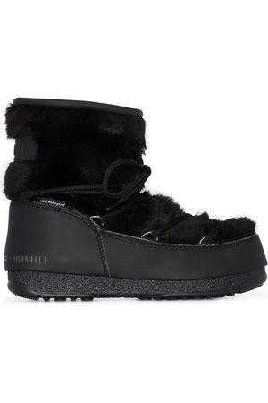 Moon Boot Monaco faux fur boots
