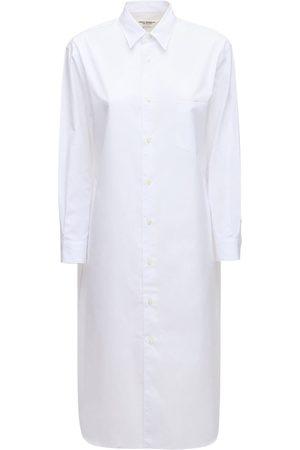 JUNYA WATANABE Hemdkleid Aus Baumwollpopeline
