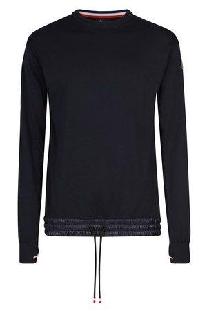 Moncler Herren Longsleeves - Sweatshirt mit Rundhalsausschnitt