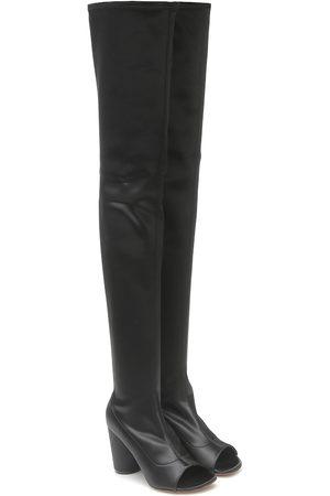 Vetements Overknee-Stiefel aus Satin