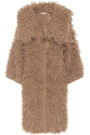 Stella McCartney Mantel aus einem Alpakagemisch