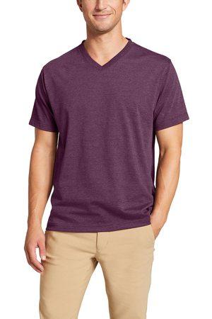 Eddie Bauer Legend Wash Pro Shirt - Kurzarm mit V-Ausschnitt Herren Gr. S