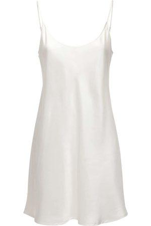 La Perla Silk Robe Mini Dress