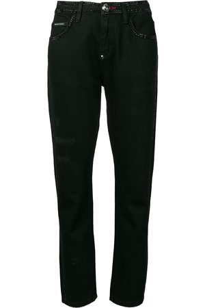 Philipp Plein Jeans mit geradem Bein