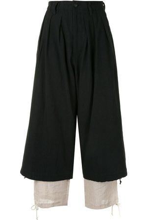 YOHJI YAMAMOTO Damen Hosen & Jeans - Hose im Layering-Look