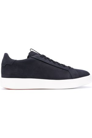 santoni Sneakers mit Schnürung