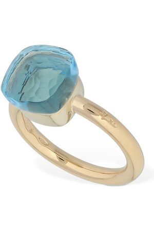 Pomellato Nudo 18kt Ring W/ Light Blue Topaz