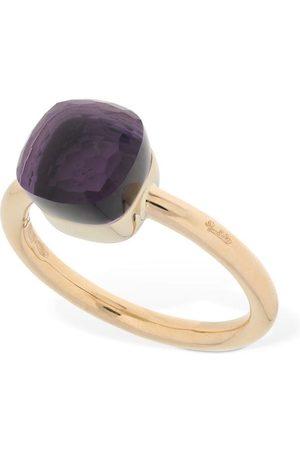 Pomellato Damen Ringe - Nudo 18kt Thin Ring W/ Amethyst