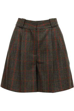 Blaze Drum Beat Wool Shorts