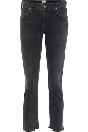 Citizens of Humanity Mid-Rise Cropped Jeans Elsa