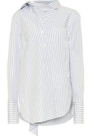 MONSE Gestreifte Bluse aus Baumwolle