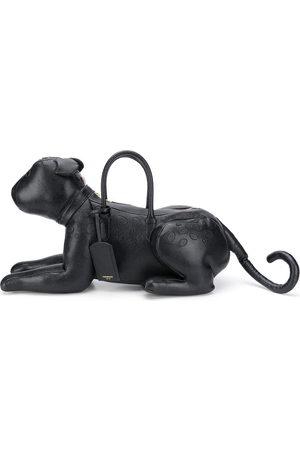 Thom Browne Handtasche im Geparden-Design - 001 BLACK