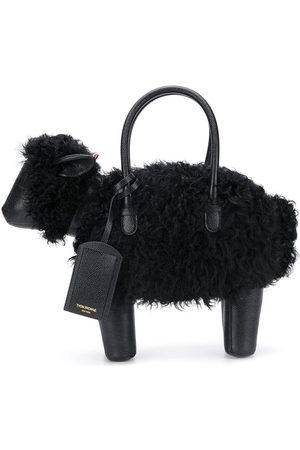 Thom Browne Herren Handtaschen - Handtasche mit Schafform - 001 BLACK