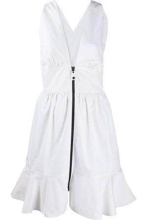 LOUIS VUITTON Pre-owned Kleid mit geraffter Taille