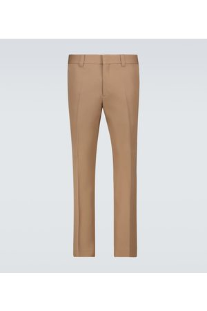 Burberry Slim-Fit Wollhose