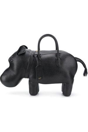 Thom Browne Handtasche im Nilpferd-Design - 001 BLACK