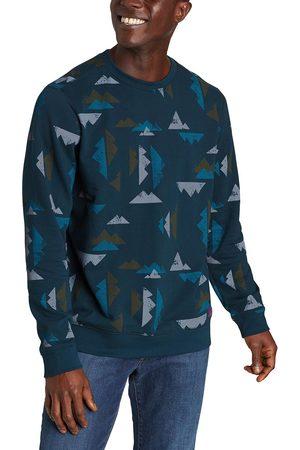 Eddie Bauer Camp Fleece Sweatshirt - Bedruckt Herren Gr. S