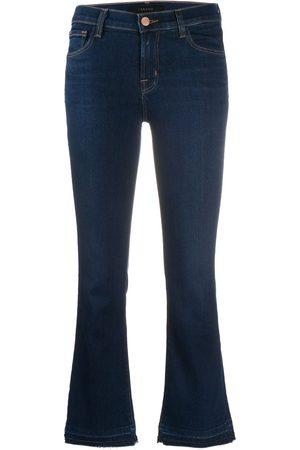 J Brand Ausgestellte Cropped-Jeans