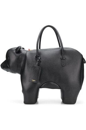 Thom Browne Handtasche im Bären-Design - 001 BLACK
