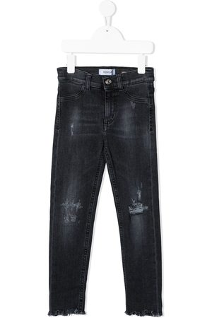 Dondup Schmale Distressed-Jeans
