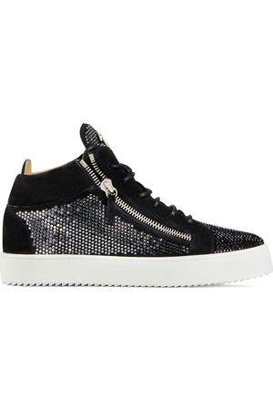 Giuseppe Zanotti Kriss' High-Top-Sneakers mit Kristallen