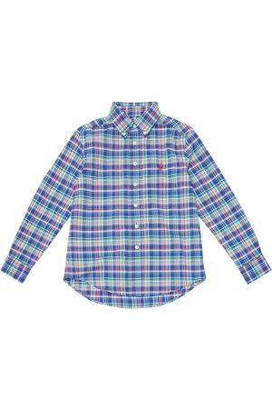 Ralph Lauren Kariertes Hemd aus Twill