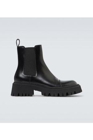 Balenciaga Ankle Boots Tractor aus Leder