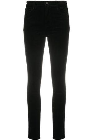 J Brand Slim-leg black trousers