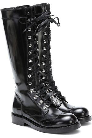 Dolce & Gabbana Stiefel aus Leder