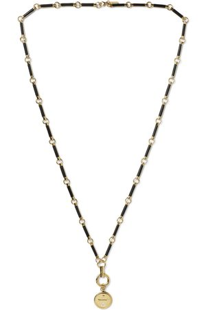 Foundrae Herren Halsketten - Dream 18-Karat , Diamond and Onyx Necklace