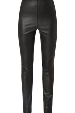Soaked in Luxury Leggings in Leder-Optik Modell 'Kaylee