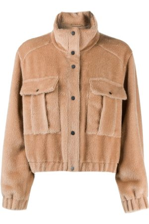 Brunello Cucinelli Fleece jacket - Nude