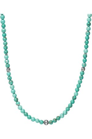 Nialaya Jewelry Halskette mit Türkisperlen