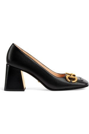Gucci Damen Pumps - Mittelhoher Damenpumps mit Horsebit
