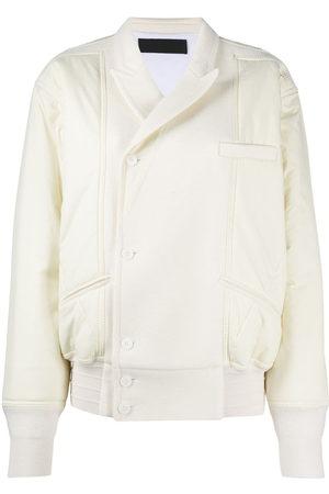 Haider Ackermann White bomber jacket - Nude