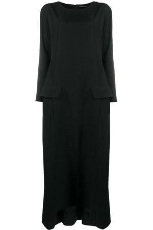 YOHJI YAMAMOTO Damen Freizeitkleider - Maxikleid mit Knöpfen