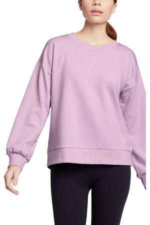 Eddie Bauer Cozy Camp Fleece Sweatshirt mit Tulpenärmel Damen Gr. S