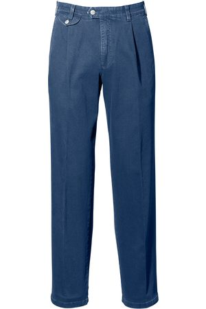 Brax Perfect-Cut Bundfalten-Jeans Modell Fred denim