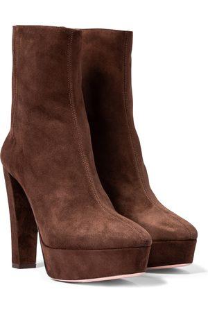 Aquazzura Ankle Boots Saint Honoré 120