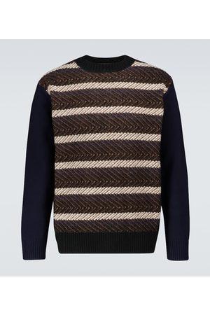 JUNYA WATANABE Gestreifter Pullover aus Wolle