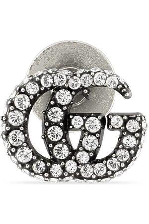 Gucci Uhren - GG Marmont Ohrstecker mit Kristallverzierung